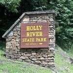 holly River sign